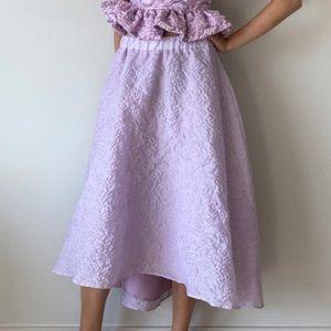 Zara limited edition voluminous organza skirt